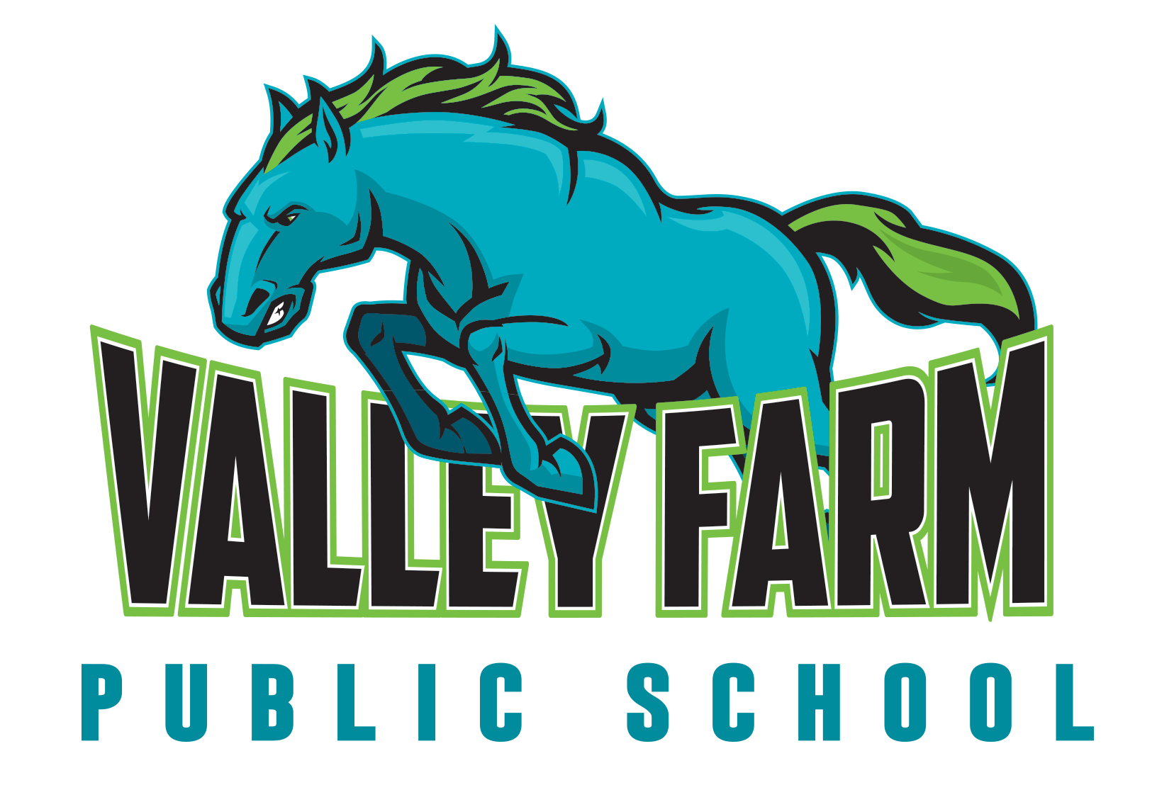 Valley Farm Public School logo